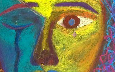 Expressionistisches Porträt